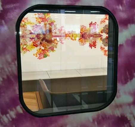 現美新幹線の窓から