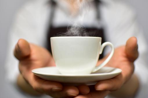 コーヒーをどうぞ