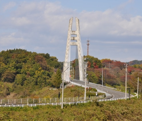 さくら湖の橋